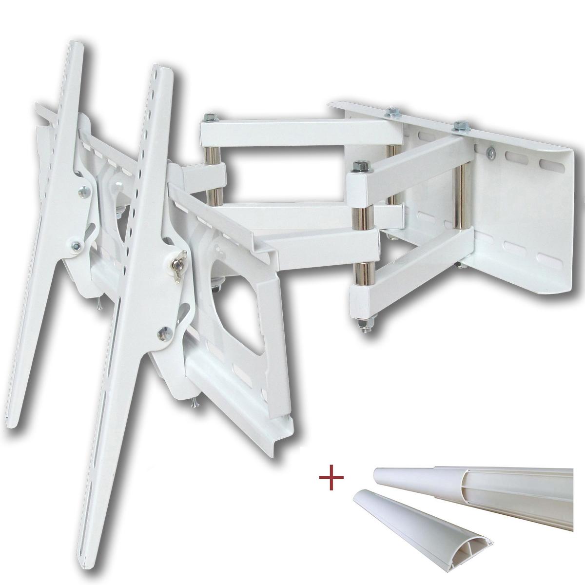 tv wandhalterung bis 55 zoll schwenkbar ausziehbar vesa. Black Bedroom Furniture Sets. Home Design Ideas
