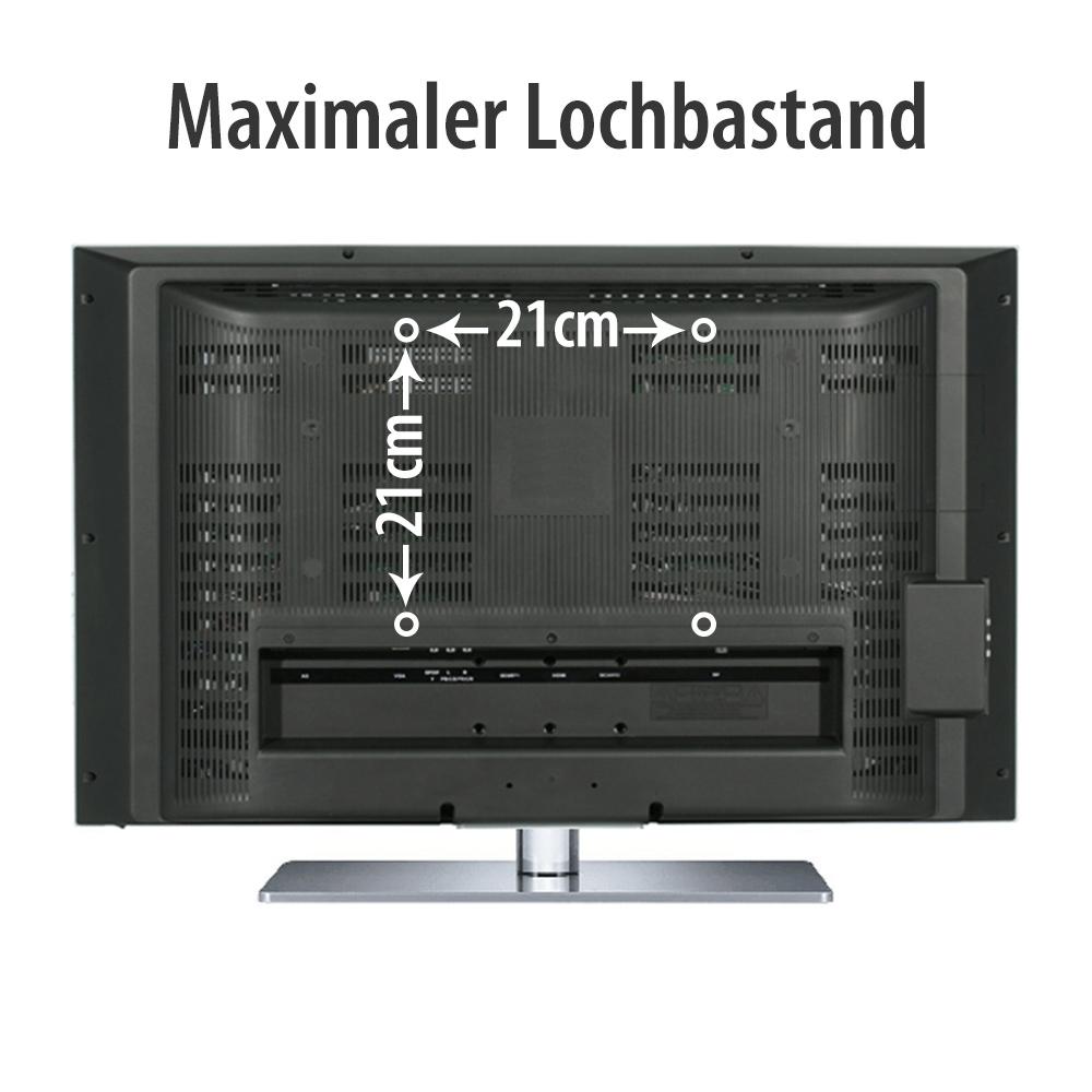 tv wandhalterung f r samsung alle bis 46 zoll vesa 75x75 200x200 ebay. Black Bedroom Furniture Sets. Home Design Ideas